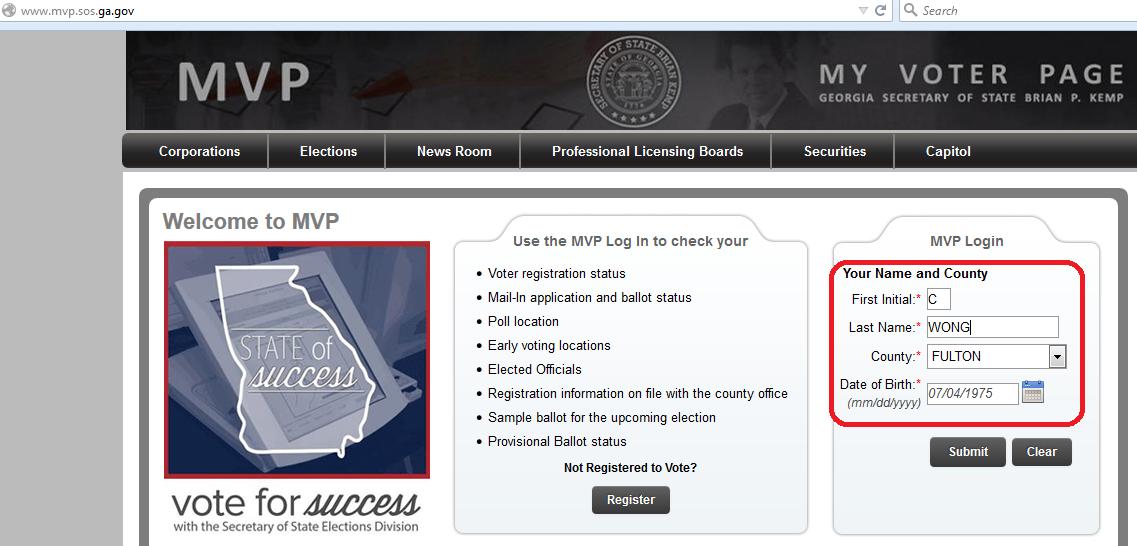 MVP VotingPlace