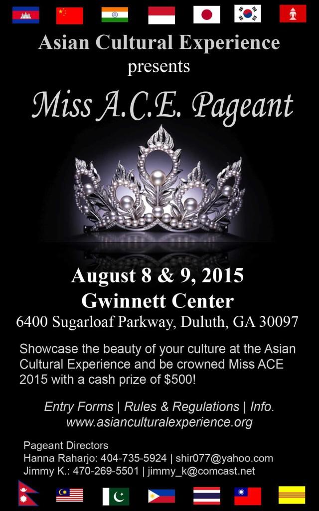 Miss ACE FLYER 2015