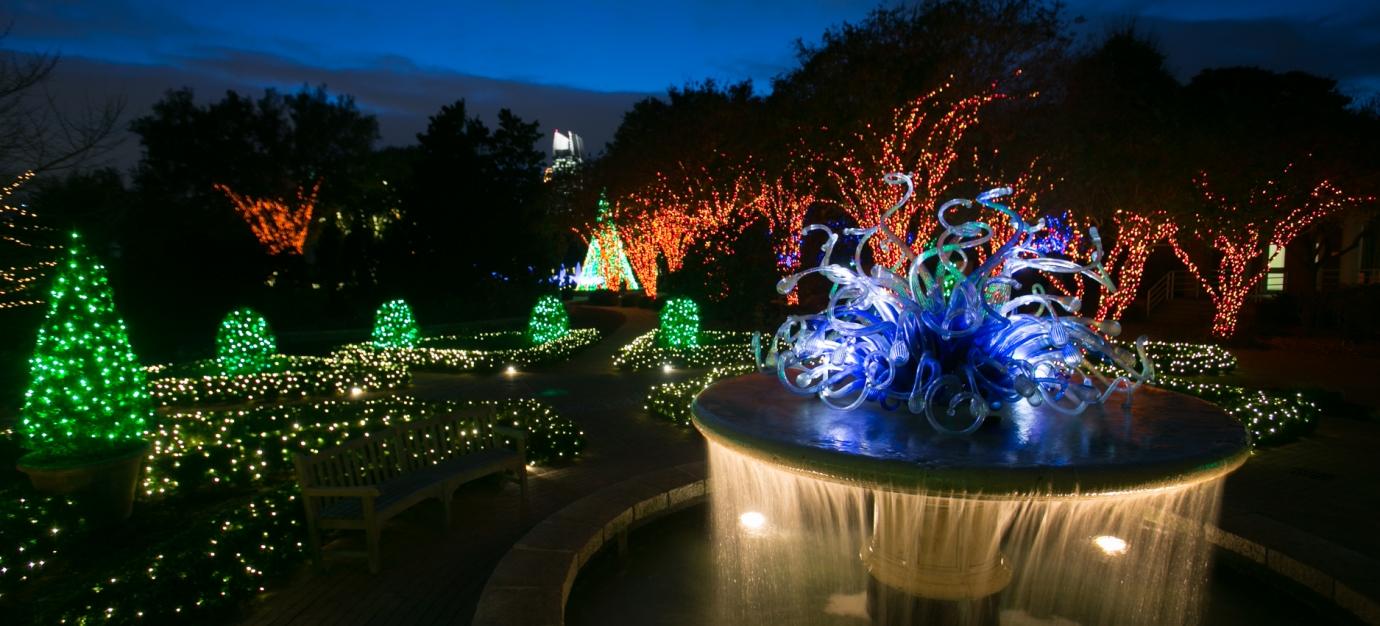 室外活动 | 亚特兰大植物园节日灯光秀