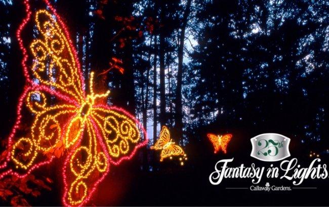 节日活动 | Callaway Gardens 圣诞灯会