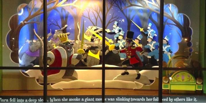 亚特兰大圣诞橱窗展